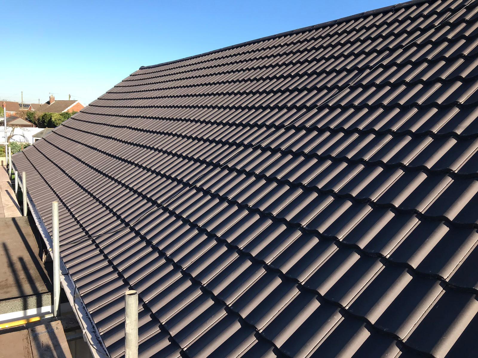 slate roofing work